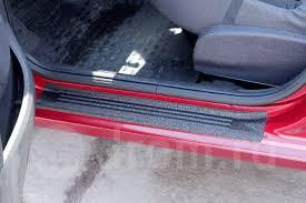 <b>Накладки на внутренние пороги</b> дверей Renault Sandero ...