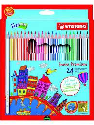 <b>Цветные карандаши</b> STABILO SWANS PREMIUM EDITIONAL ...