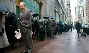 Unemployment Lines in the USA