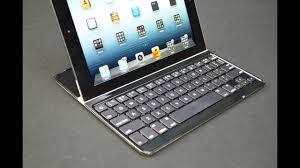 Logitech <b>Ultrathin iPad</b> Keyboard Cover: Review - YouTube