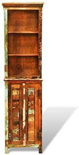 Anself <b>Reclaimed Solid</b> Wood Bookshelf <b>Vintage Style</b>: Amazon.co ...