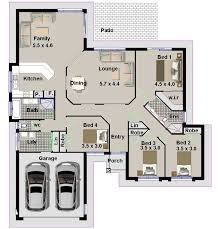 Simple Bedroom House Plans South Africa   Home Design Mini s     Bedroom House Plan With Double Garage L A ce a Jpg