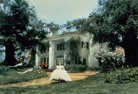 TaraView of the Tara set as it was completed for filming in    Scanned from original print in Betty Talmadge Collection