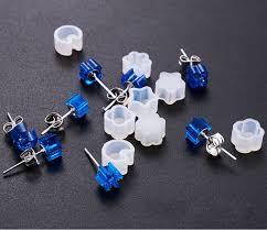 2019 Mini Stud <b>Earrings Silicone Mold</b> Crystal Epoxy Handmade ...