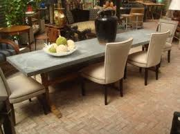 images zinc table top: zinc top dining table cute designing home inspiration with zinc top dining table  l