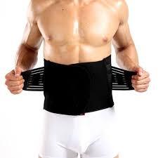 men slimming belt tummy shaper body modeling strap corset waist trainer sweat cincher shapewear