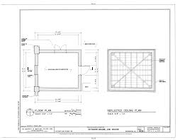 File Floor Plan and Reflection Ceiling Plan   Octagon House  Ice    File Floor Plan and Reflection Ceiling Plan   Octagon House  Ice House  New York Avenue  Northwest  Washington  District of Columbia  DC HABS DC WASH