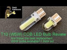 fysz t10 cob w5w 5w 194 6000k cars from light emitting diodes cob independent led bulb no errors univ auto lamp 12v