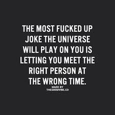 The right person at the wrong time | quotes | Pinterest | Universe ... via Relatably.com