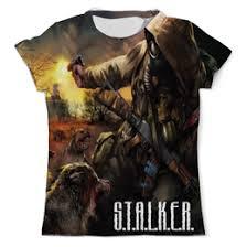 Купить футболки «<b>Сталкер</b>» - <b>Printio</b>