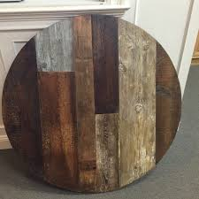 custom dining table quot reclaimed teak  round dining table round table topwood variety made to order middot r