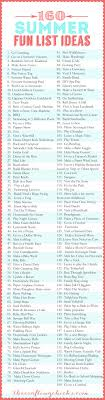 best images about sister s summer bucket list 160 summer fun list ideas