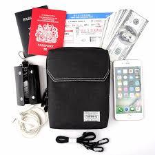 <b>BISI GORO</b> Messenger <b>Travel</b> Bag Phone Coin ID Card Solid Del ...