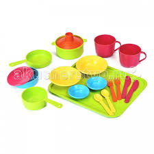 <b>Набор</b> посуды столовый Сели поели (31 деталь) <b>Росигрушка</b> ...