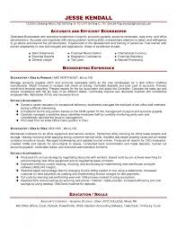bookkeeper resume samples eager world professional resumes gallery of resumes for bookkeepers