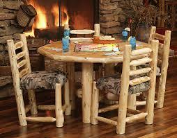 Log Dining Room Tables Elegant Log Dining Room Table Chateautourduroccom