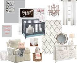 gray and white girls vintage rustic nursery baby nursery rockers rustic