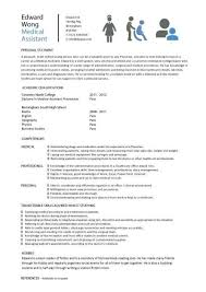 Medical CV template, doctor, nurse CV, medical jobs, Curriculum ... Medical CV template