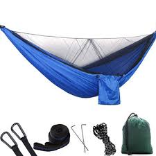 <b>1-2 person</b> portable <b>outdoor</b> camping hammock with mosquito net ...