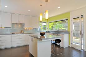 kitchen recessed lighting placement light