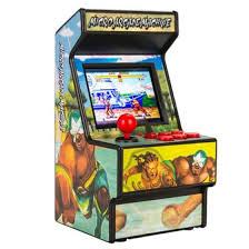 Shop Retro <b>mini arcade handheld game</b> console 16-bit built-in 156 ...