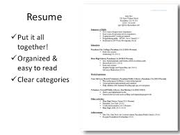 how to put together a resumes Template