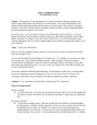 example of a informative essay template example of a informative essay