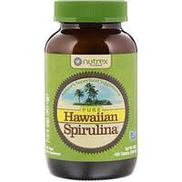 Nutrex Hawaii, <b>Pure Hawaiian Spirulina</b>, <b>500 мг</b>, 400 таблеток - iHerb
