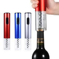 <b>Electric Corkscrew Wine Bottle Opener</b> Foil Cutter Rechargeable ...
