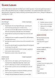 store manager cv example hashtag cv store manager cv example and template