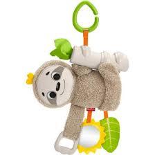 """<b>Подвесная игрушка</b> для коляски <b>Fisher</b>-<b>price</b> """"Ленивец"""" - купите по ..."""