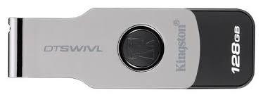 <b>Флеш диск Kingston 128GB</b> DataTraveler SWIVL <b>USB</b> 3.1 Metal/color