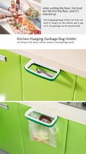 Kitchen Cabinet Garbage Drawer Honana Plastic Hanging Garbage Rubbish Bag Holder Kitchen Cupboard