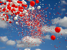 Image result for balloons sky