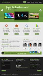 create a professional web layout