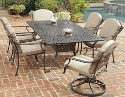 size piece patio