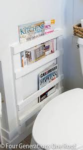magazine rack wall mount: diy bathroom magazine rack diy bathroom magazine rack resized diy bathroom magazine rack
