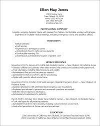 professional pediatric nurse templates to showcase your talent    resume templates  pediatric nurse