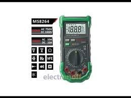 <b>Мультиметр</b> цифровой <b>MS8264 MASTECH</b>. Видео от Интернет ...
