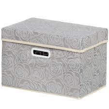 <b>Кофр для хранения Розы</b> Y3-587 I.K складной, 38х25х25 см, серый