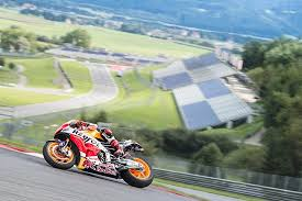 marc mrquez races during a media day at the red bull ring in spielberg austria austria view red bull