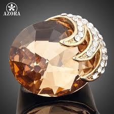 AZORA Gold <b>Color</b> Stellux <b>Austrian Crystal</b> Eagle With its Claws ...