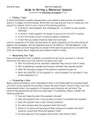 visual rhetoric essay outline  visual rhetoric essay outline