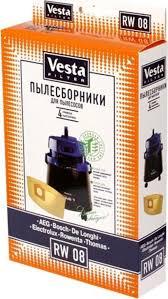 <b>Vesta filter</b> RW 08 комплект пылесборников, 4 шт — купить в ...