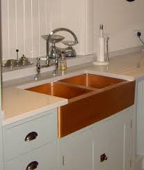 hammered copper kitchen sink: farm style copper kitchen sinks ginkofinancial