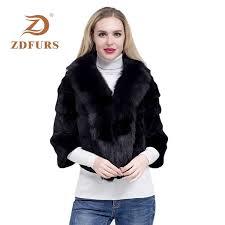 <b>ZDFURS</b>* 2019 Fashion Whole Skin Rex Rabbit Female <b>Winter New</b> ...