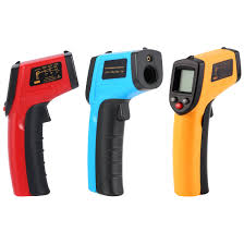 GM320 Laser <b>LCD Digital IR</b> Infrared Thermometer Temperature ...