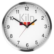 metal wallclock branded merchandise office