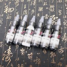 6 Bottles Of 1oz Tattoo Ink Pigment Group Body Art 30ml Black ...