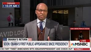 msnbc dems desperate for hero obama to trash trump long room during msnbc s 11 a m et hour on monday minutes before barack obama began his first public appearance since leaving office correspondent ron allen
